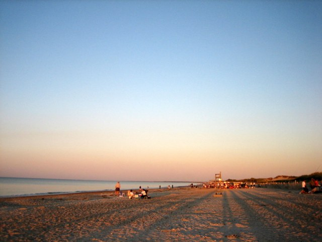 sandy neck beach cape cod