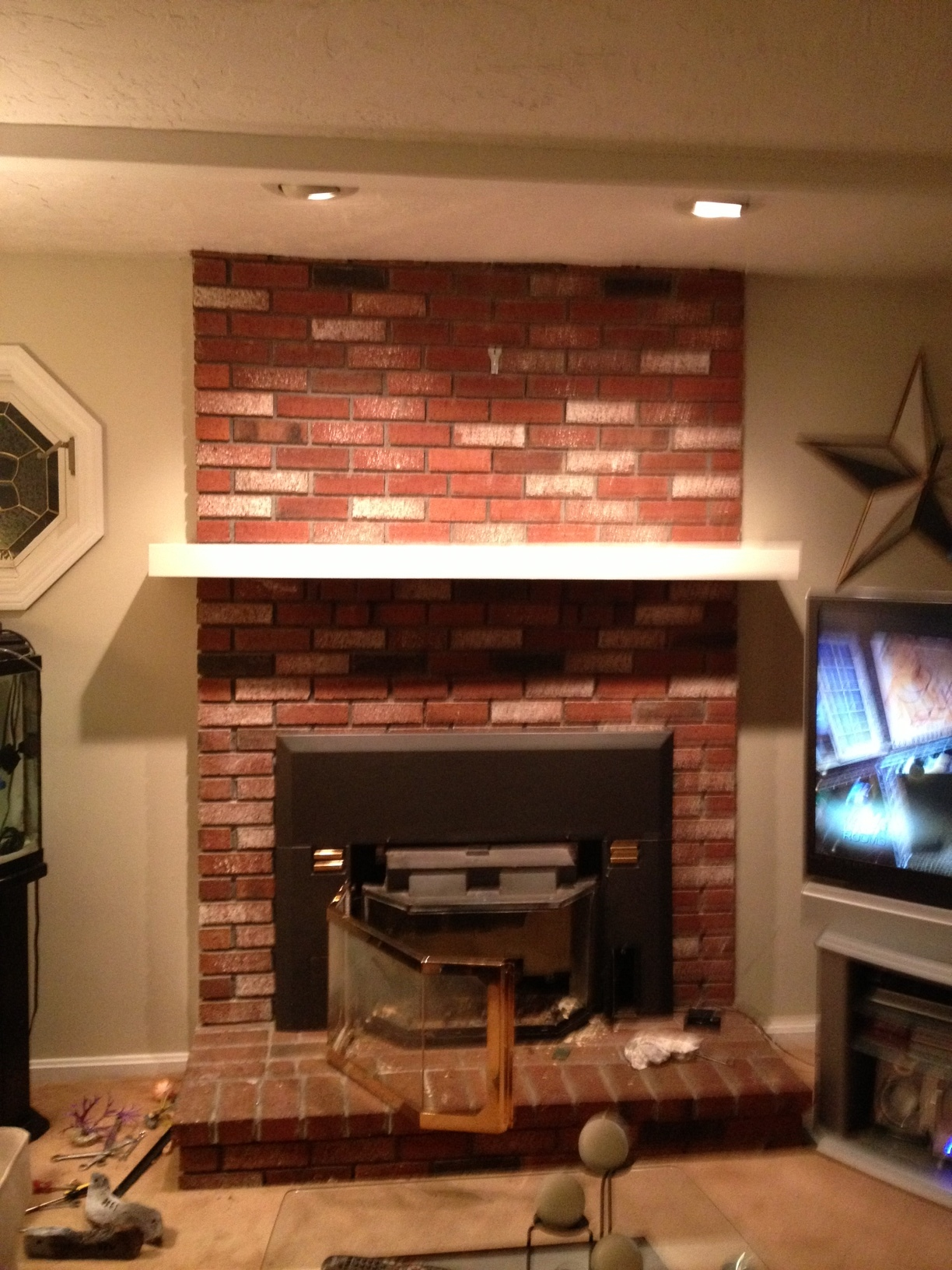 Cheap Fireplace Renovation Gets Big Return Real Estate