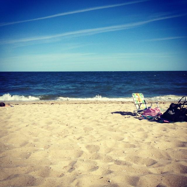 Popponesset beach the spit