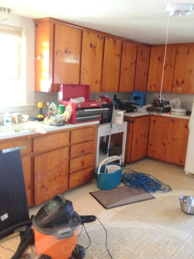 DIY Kitchen Before