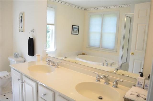 A spacious, appealing and functional vanity at 52 Cairn Ridge Road in Falmouth!
