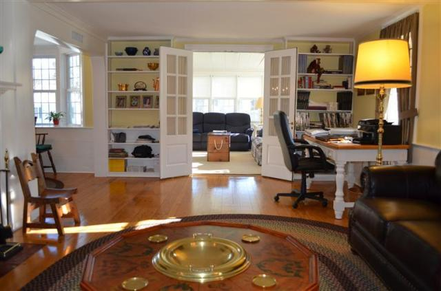 Timeless hardwood floors at 98 Mill Road in Falmouth!